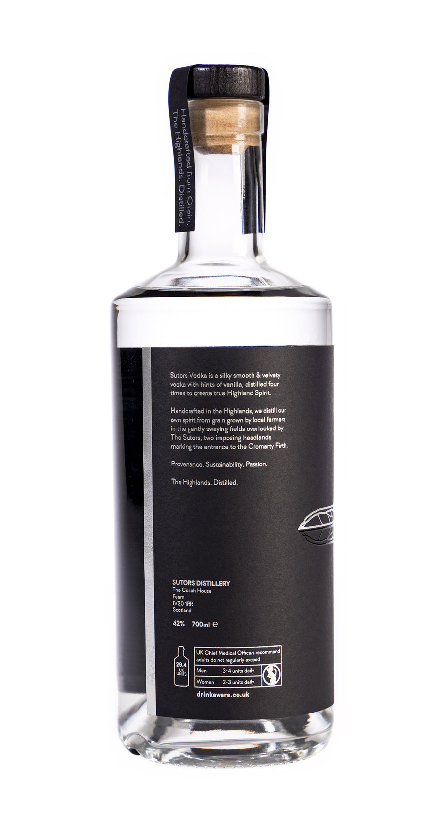 Sutors Vodka 700ml 42% ABV