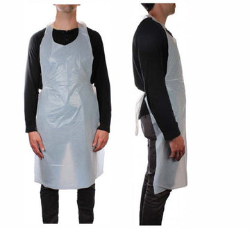 Disposable Aprons  <br> Min Qty 100 <br>