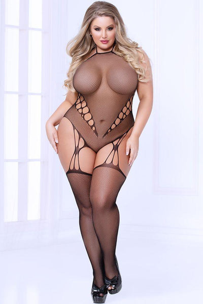 Pot-Hole Hearted Bodystocking