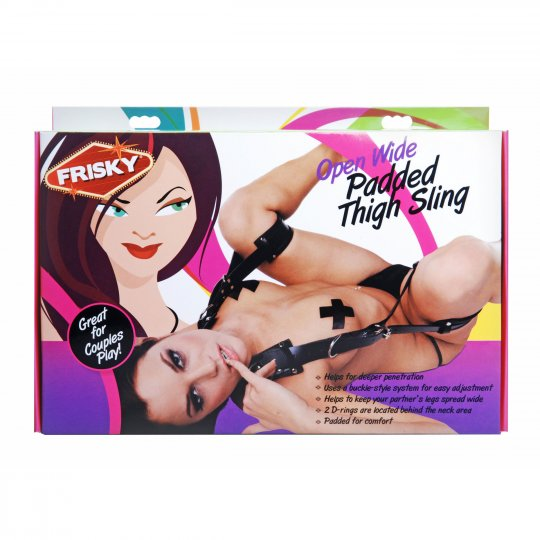 Frisky Open Wide Padded Thigh Sling