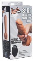 8.5 Inch Vibrating Squirting Dildo with Remote Control 3 COLOR OPTIONS (SHIP ONLY, NOT AVAILABLE FOR PICK UP)