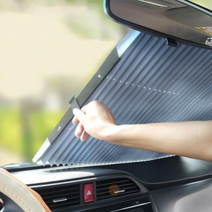 Buy 2 Save 10% off and Free Shipping-Car Retractable Windshield Cover