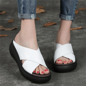 🔥BUY 2 FOR FREE SHIPPING 2020 chic comfy platform sandals