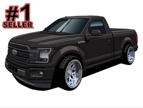 F150 GIVEAWAY DECAL (40 ENTRIES)