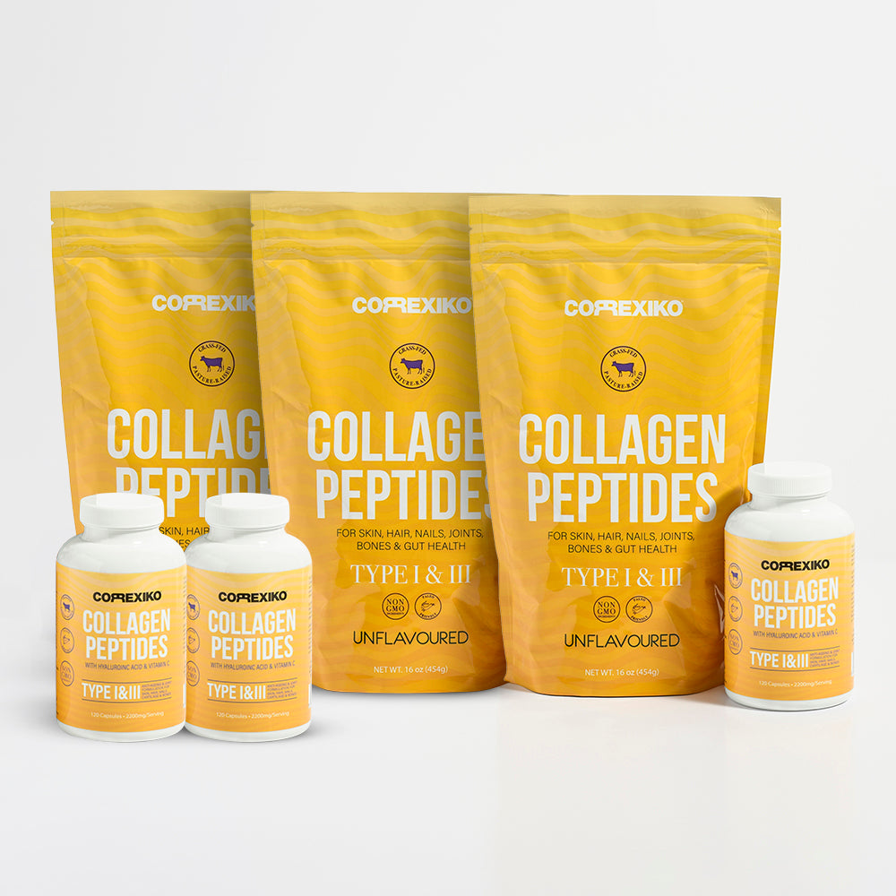 3 Month Collagen Powder + Capsules