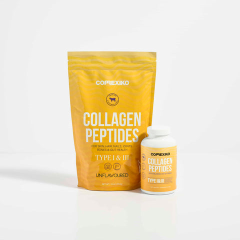 1 Month Collagen Powder + Capsules Bundle