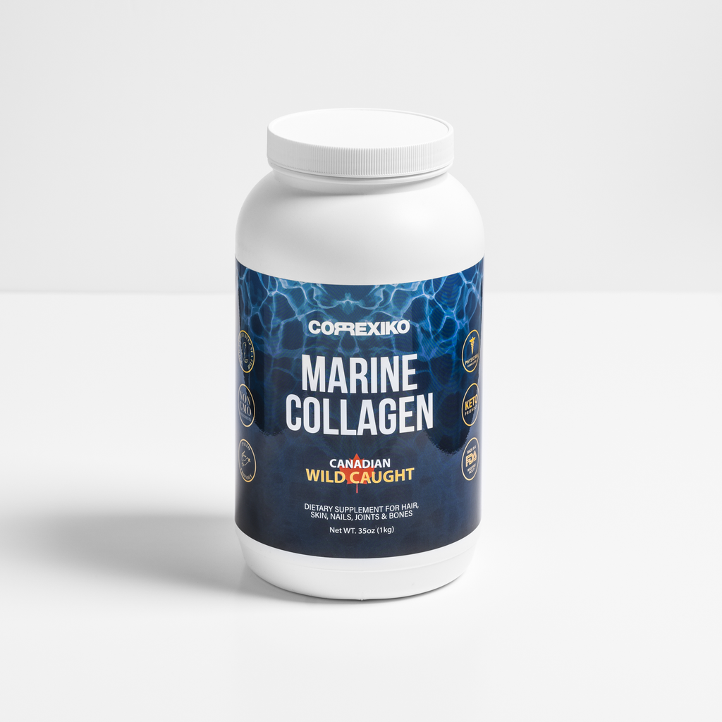 Marine Collagen Peptides Powder 1KG  (100 Day Supply)