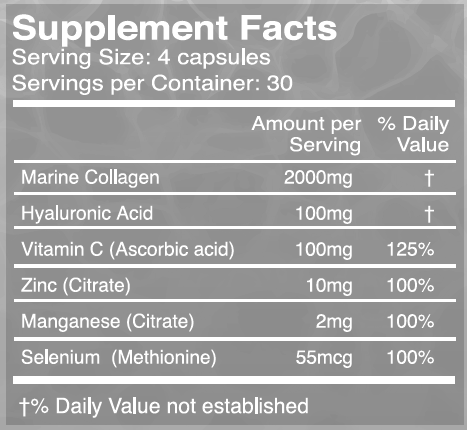 Marine Collagen Capsules (from Wild-Caught Canadian Fish)