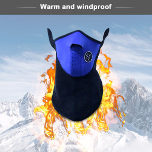 Snow Obsession™ Airsoft Warm Neoprene Half Face Ski Mask X