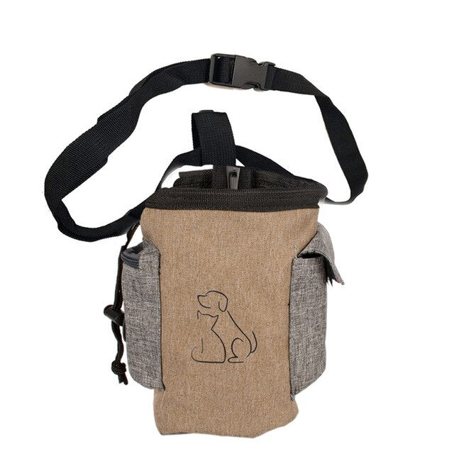 Pet Dog Treat Pouch Dog Training Treat Bags Portable Detachable Pet Feed Pocket Pouch Puppy Snack Waist Bag Removable Bag