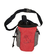 Load image into Gallery viewer, Pet Dog Treat Pouch Dog Training Treat Bags Portable Detachable Pet Feed Pocket Pouch Puppy Snack Waist Bag Removable Bag
