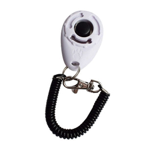 Transer 1pc Pet Dog Tranining Supply New Dog Pet Clicker Training Aid Wrist Strap Smart Dog Training Accessory 81220