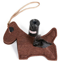 Load image into Gallery viewer, Outdoor Portable Poop Bag Holder Cute Animal Shape Dog Waste Bags Easy Degradable Pet Poop Bags Dispenser Dog Cleaning Products