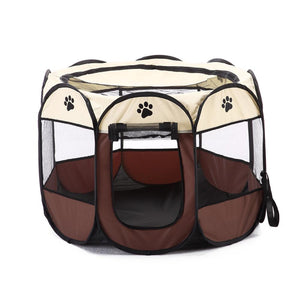2019 Hot Sale Pet Tent Portable Playpen Dog Folding Crate Doghouse Puppy Pen Soft Kennel New Cat Cage