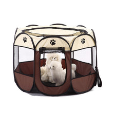 Load image into Gallery viewer, 2019 Hot Sale Pet Tent Portable Playpen Dog Folding Crate Doghouse Puppy Pen Soft Kennel New Cat Cage