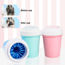 Load image into Gallery viewer, Pet Cats Dogs Foot Clean Cup For Dogs Cats Cleaning Tool Soft Plastic Washing Brush Paw Washer Pet Accessories for Dog