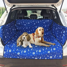 Load image into Gallery viewer, Dog Car Seat Cover Footprint Thick Waterproof Bite Resistant Rear Back Trunk Hammock Cushion Protector Seat Cover Pad Mat