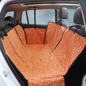 Pet Carriers Car Pet Seat Cover Dog Car Back Seat Carrier Waterproof Pet Mat Hammock Cushion Protector Pets Outdoor Supplies