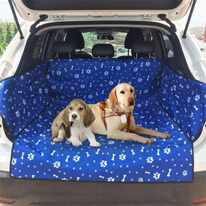 Dog Car Seat Cover  Thick Waterproof Bite Resistant Car Rear Back Trunk Cushion Protector Seat Cover Pad Mat Blanket