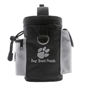 Portable Pet Dog Training Treat Bags Puppy Reward Feed Snack Pouch Belt Bag