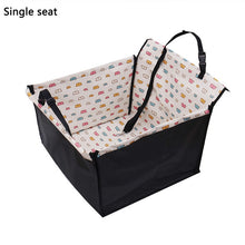 Load image into Gallery viewer, Pet Dog Carrier Waterproof Dog Seat Bag Basket Seat Pad Safe Carrier For Cat Bag Puppy Bags Car Travel Accessories