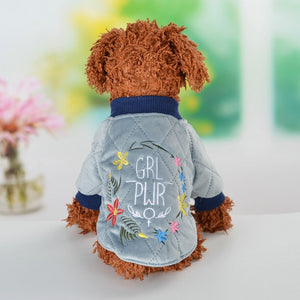 Small Dog Clothes For Chihuahua Soft Fur Hood Puppy Jacket Clothing for Chihuahua Small Large Dogs Pet Dog Coat Winter Warm