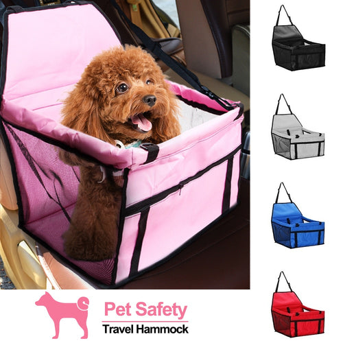 Dog Seat Bag Basket Pet Products Safe Carry House Cat Puppy Bag Dog Car Seat Pet Dog Carrier Pad Waterproof