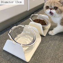 Load image into Gallery viewer, 15 Degree Adjustable Pet Feeder Bowl Dog Cat Adjustable Feed Bowl Feeding Food Water Non-slip Pet Dog Dish Feeders Tableware