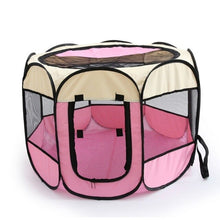 Load image into Gallery viewer, Easy Operation Octagonal Fence Outdoor Supplies Portable Folding Pet Tent Dog House Cage Dog Cat Tent Playpen Puppy Kennel