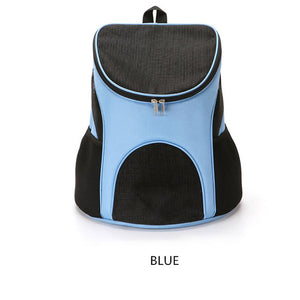 Foldable Pet Carrier Backpack Dog Cat Outdoor Travel Carrier Packbag Portable Zipper Mesh Pet Backpack Pet Out Bag Cat Backpack