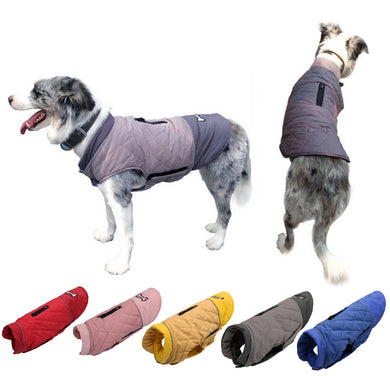 Waterproof Pet Dog Puppy Coat Jacket Chihuahua Clothing Warm Winter Christmas Dog Clothes Vest For Small Medium Large Dogs