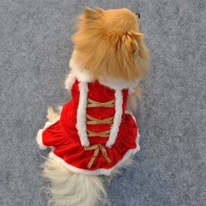 Pet Clothes Winter Christmas Dog Clothes Christmas Dog Clothes Santa Doggy Costumes Clothing Pet Apparel New Design