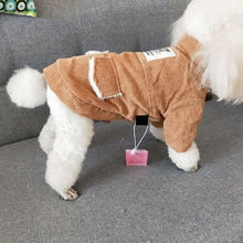 Load image into Gallery viewer, Warm Coats For Dogs Autumn Winter Plus Cotton Padded Vest Styles Dog Coats For Pets