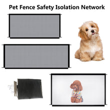 Load image into Gallery viewer, New Pet Barrier Fences Portable Folding Breathable Mesh Dog Gate Pet Separation Guard Isolated Fence Dogs Baby Safety Fence