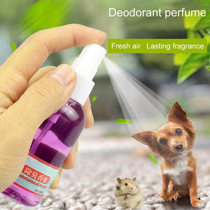 50ML Pet Deodorant Spray Deodorant Perfume For Dogs Cats Removing Odor Freshing Air Pet Perfume Pet Supplies Pooper Scoopers