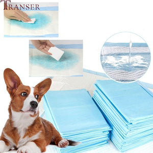 5/10/20pcs Free Shipping Disposable Thickening Dog Urinal Pad Diaper Absorbent Pet Bed Pads Mat Pet Supply 80510 Drop Shipping