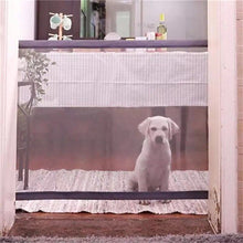 Load image into Gallery viewer, ULTRASOUND PET Dog Gate For Dogs The Ingenious Mesh Safe Guard and Install Anywhere Pet Dog Safety Enclosure Pet Gate Dog Fences