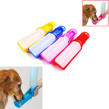 Load image into Gallery viewer, DIDIHOU 1PC Pet Dog Water Bottle 250ml Foldable Portable Drinking Bottle Travelling Outdoor Drinking Feeder Bowl