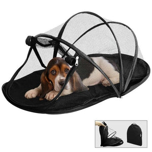 Pet Fun House Cat Dog Playpen Feline Funhouse Portable Exercise Tent with Carry Bag