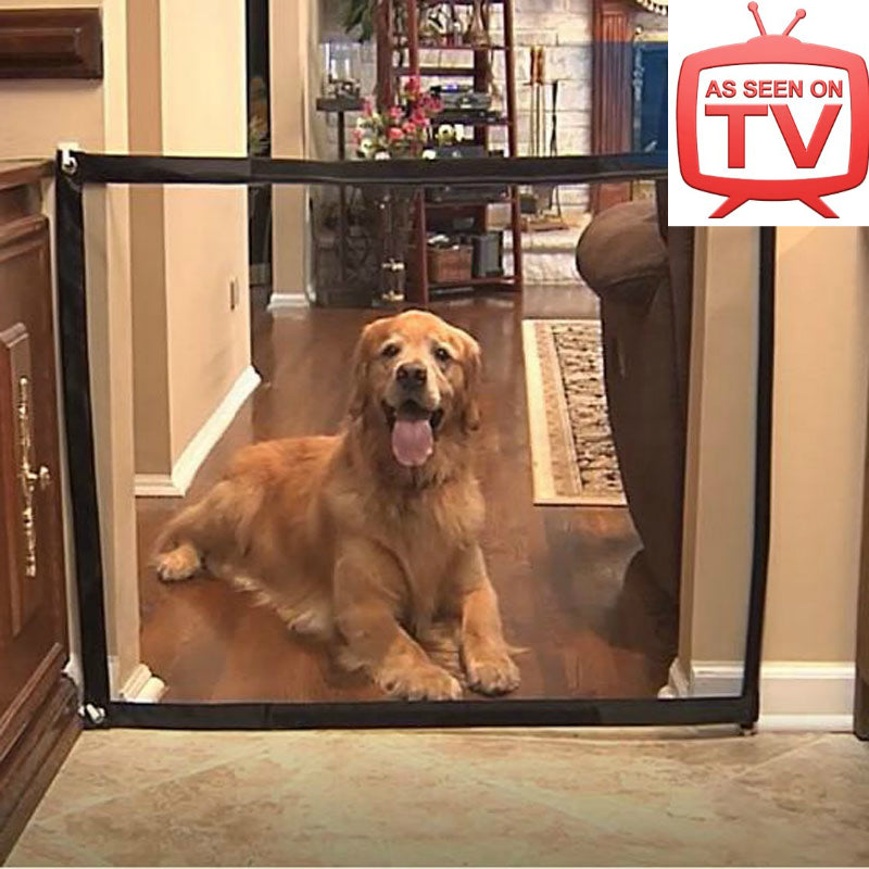 Durable Nylon Dog Fence Pets Mesh Puppies Gate Baby Fence Mesh Gate Dog Door Pet Dogs Car Fence Dropshipping As Seen on TV
