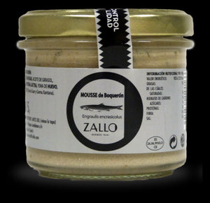mousse d'anchois zallo