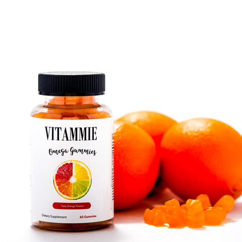 Omega Gummies | Tasty Orange Flavor