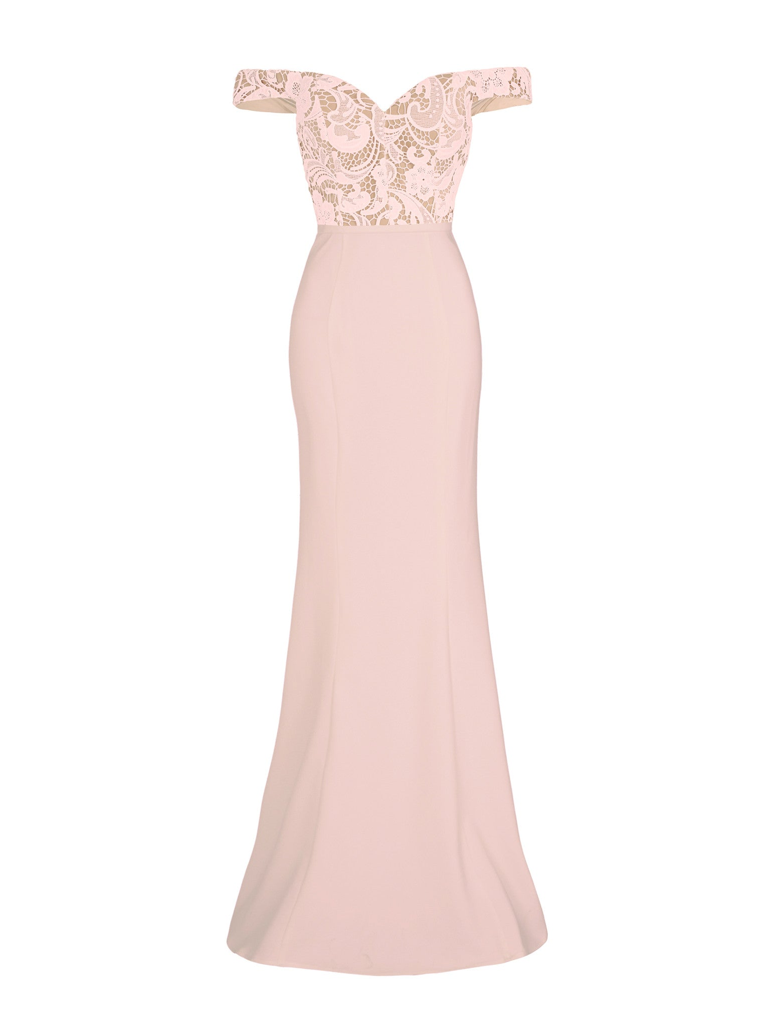 ELANA GOWN - DUSTY PINK