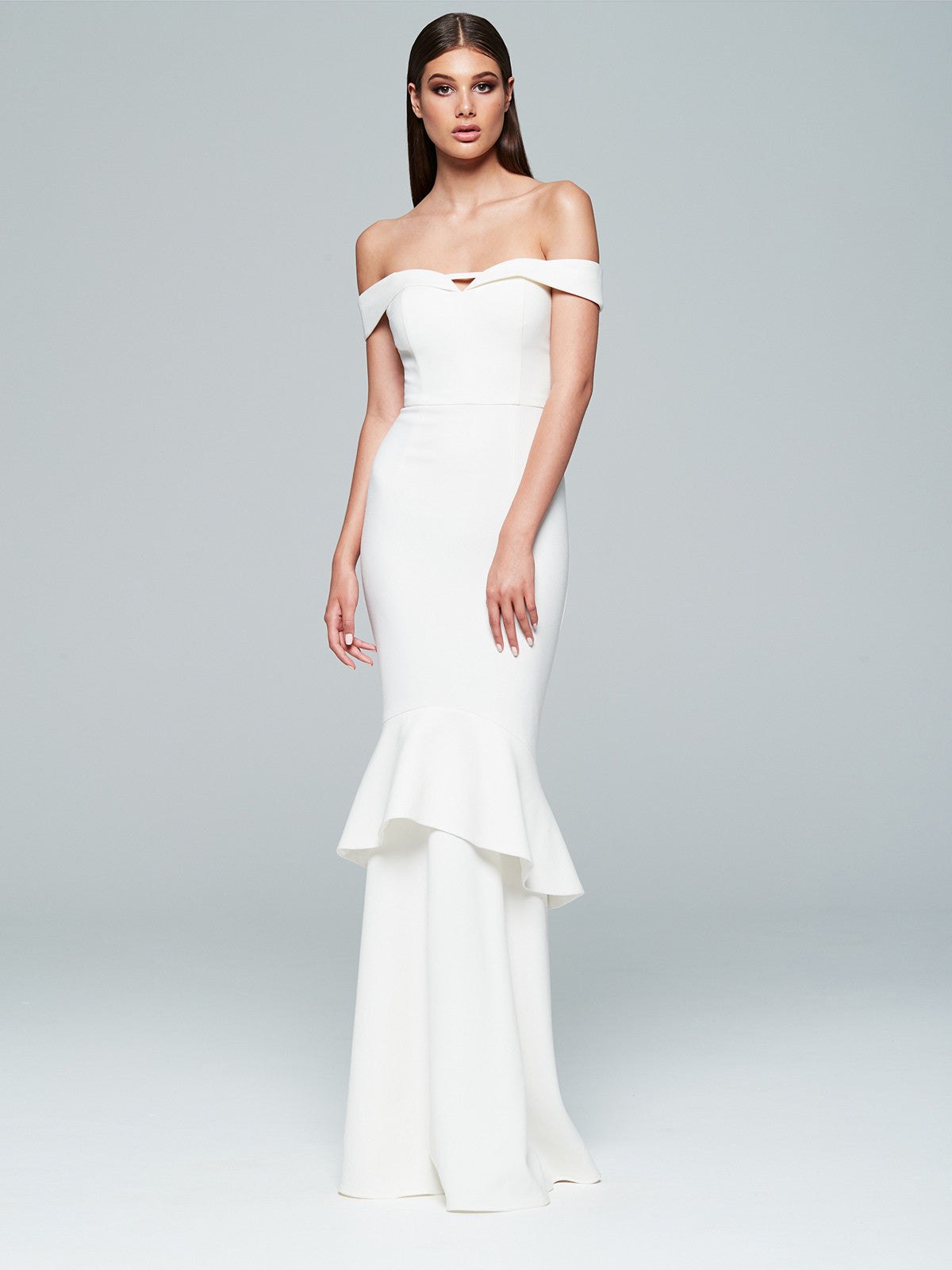 ROSETTA GOWN- IVORY