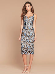 TIFFANY LACE DRESS - MULTI FLORAL