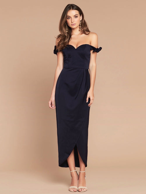 OLYMPIA DRESS - FRENCH NAVY