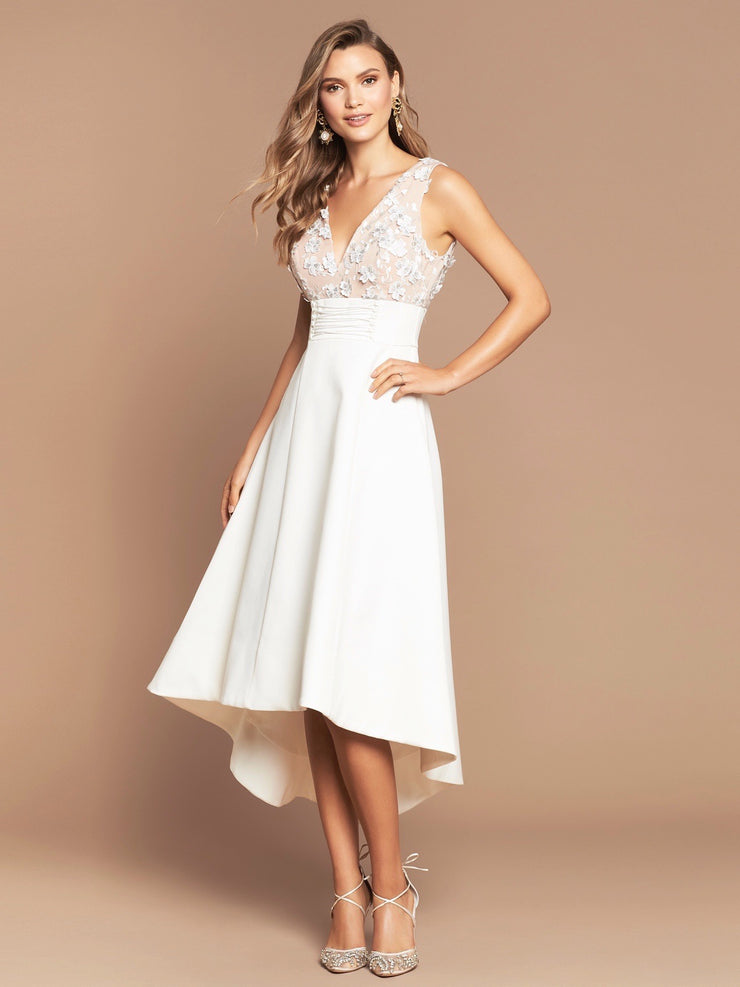 EDEN BALL DRESS - IVORY FLORAL