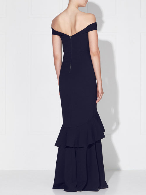ROSETTA GOWN- FRENCH NAVY