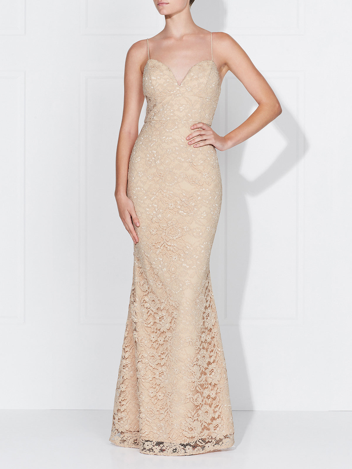 DARIA GOWN - CHAMPAGNE LIMITED EDITION