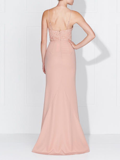 DARIA GOWN - DUSTY PINK